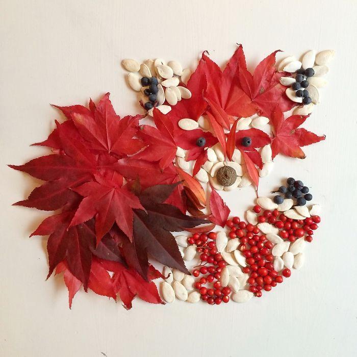 esta-artista-crea-vida-con-las-flores-que-encuentra-en-su-camino-zorro
