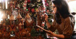 Este castillo de jengibre esculpido es la más alucinante de esta navidad