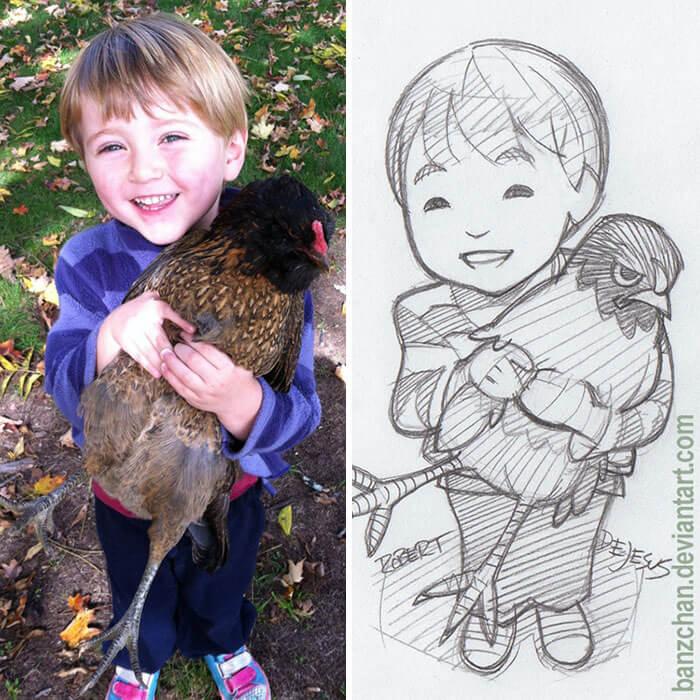 este-ilustrador-convierte-a-los-extranos-en-caricaturas-ave