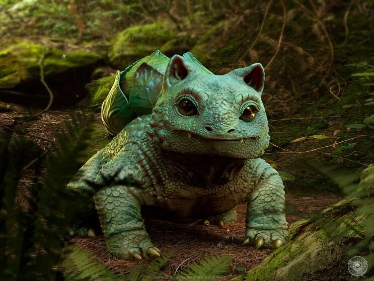 estos-pokemons-parecen-de-verdad-bulbasaur