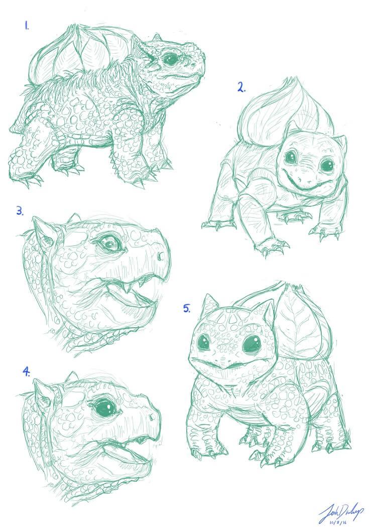 estos-seres-de-pokemon-parecen-de-verdad-bosquejo-2