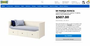 Ikea cambia los nombres de sus productos por el de los problemas más buscados en Google