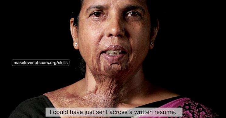 Impactante campaña que invita a hacer más el amor y no a hacer cicatrices