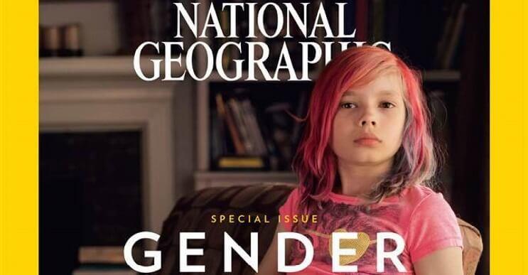 La próxima portada de National Geographic llevará una niña transgénero