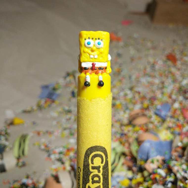 lo-que-este-artista-hace-con-las-crayolas-es-algo-increible-bob-esponja