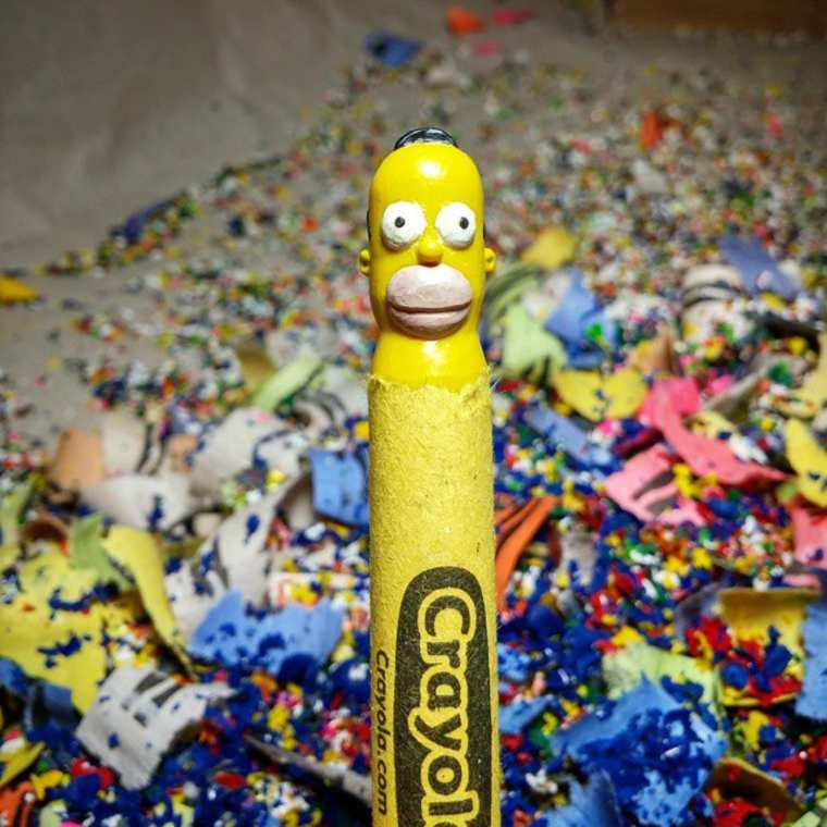 lo-que-este-artista-hace-con-las-crayolas-es-algo-increible-homero-simpson