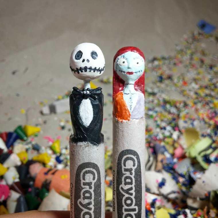 lo-que-este-artista-hace-con-las-crayolas-es-algo-increible-nightmare-before-christmas