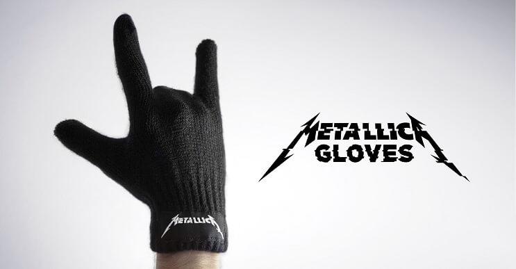 Los guantes de Metallica que todo metalero quiere