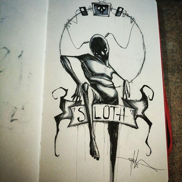 los-siete-pecados-capitales-dibujados-de-la-mas-siniestra-manera-04-pereza