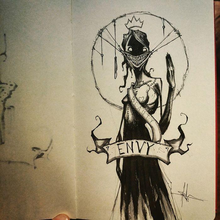 los-siete-pecados-capitales-dibujados-de-la-mas-siniestra-manera-06-envidia
