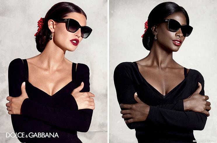 modelo-negra-recrea-campanas-hechas-por-mujeres-blancas-para-dar-un-importante-mensaje-dolce-gabbana