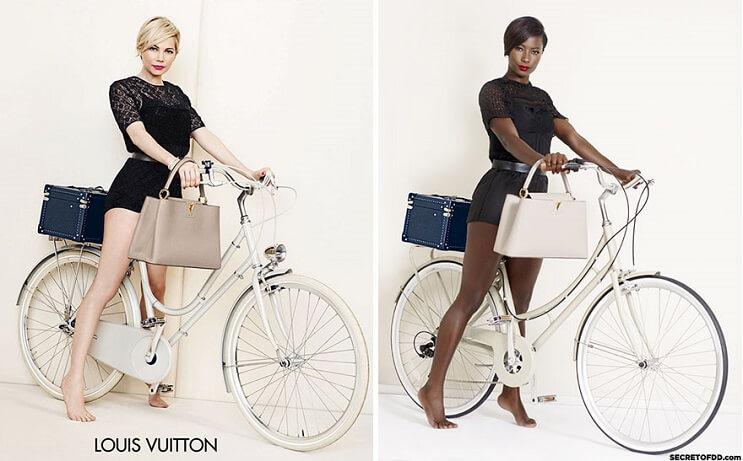 modelo-negra-recrea-campanas-hechas-por-mujeres-blancas-para-dar-un-importante-mensaje-louis-vuitton