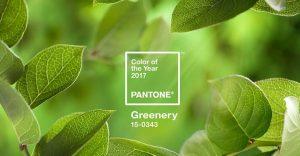 """Pantone elige al verde """"greenery"""" como el color para el 2017"""