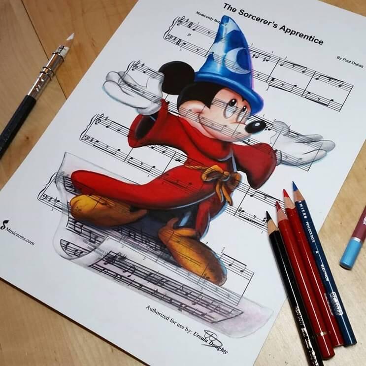 personajes-de-disney-dibujados-sobre-las-letras-de-sus-canciones-mickey-mouse