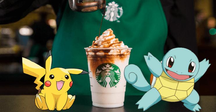 Pokémon GO llega a Starbucks