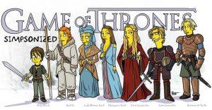Transformando películas y series en personajes de Los Simpson
