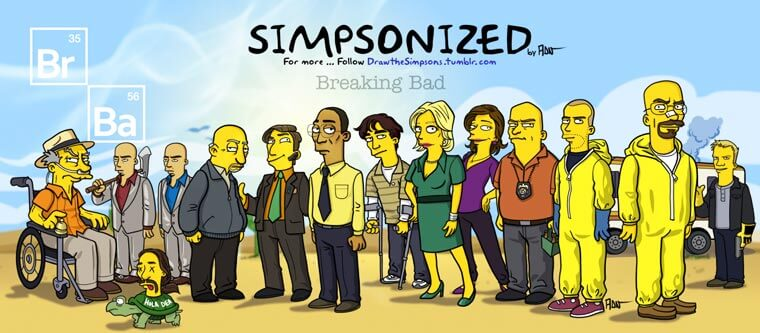 transformando-series-y-peliculas-al-estilo-de-los-simpson-breaking-bad