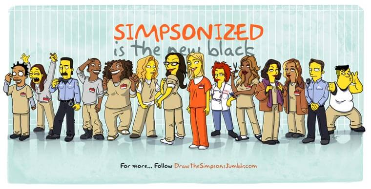 transformando-series-y-peliculas-al-estilo-de-los-simpson-orange-is-the-new-black