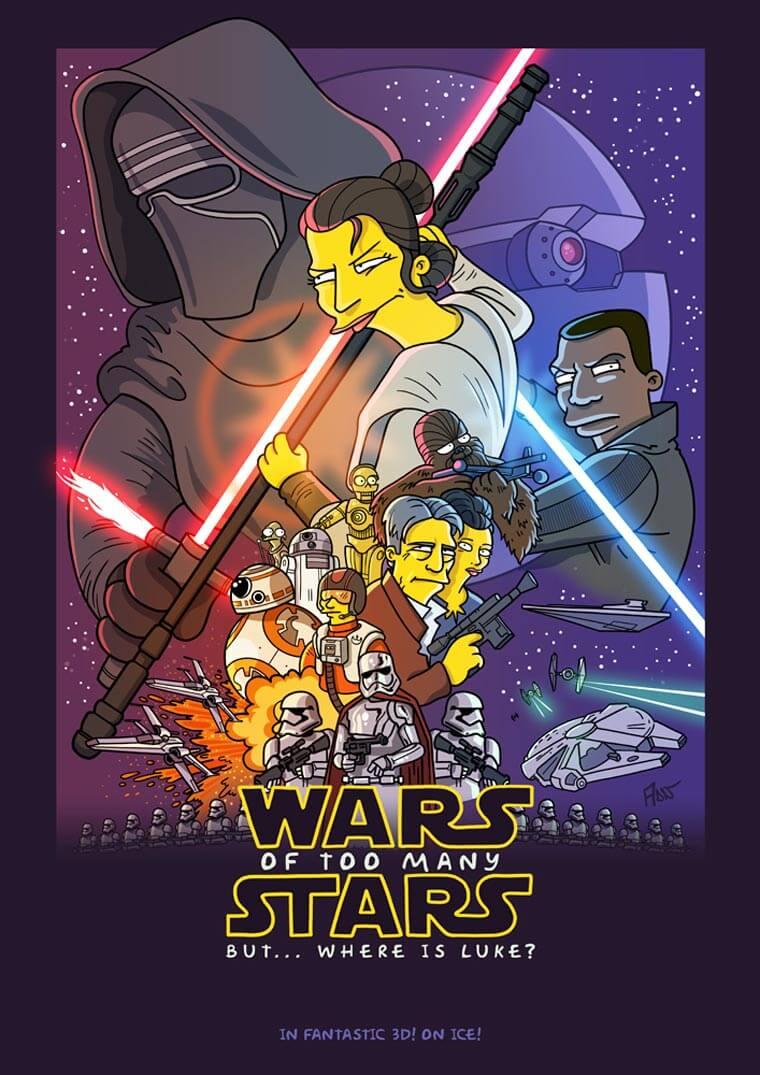 transformando-series-y-peliculas-al-estilo-de-los-simpson-the-force-awakens