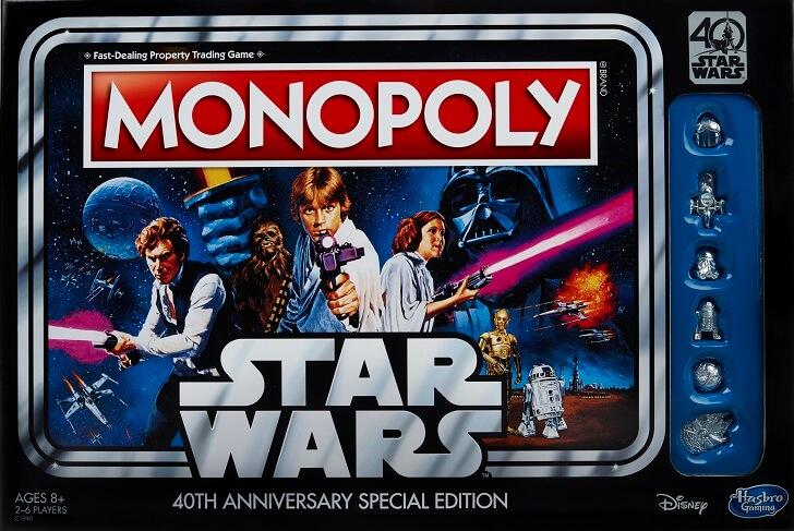 Un nuevo Monopolio por los 40 años de La Guerra de las Galaxias