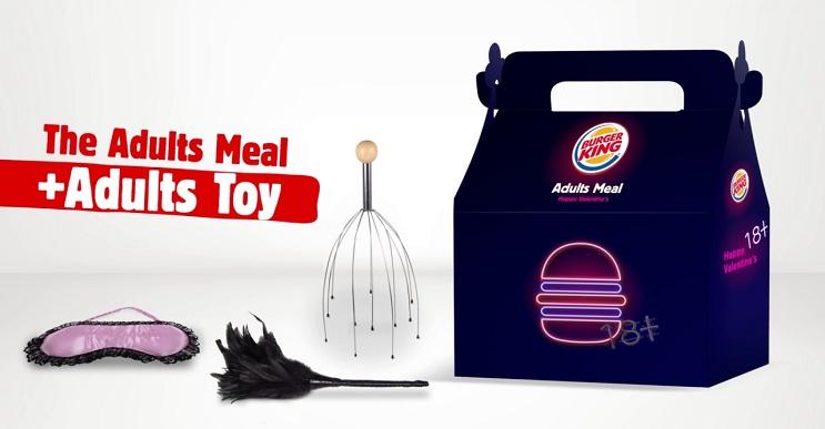 Burger King lanza una campaña exclusiva para adultos