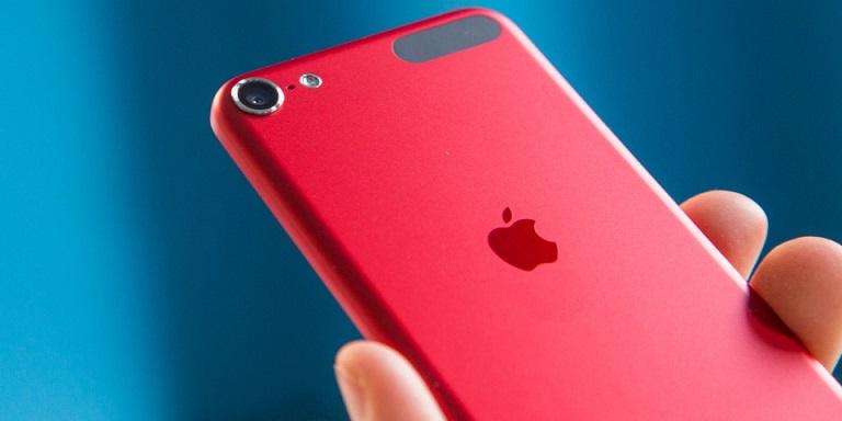 apple iPhone rojo
