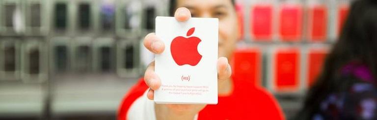 (PRODUCT) RED campaña apple contra el SIDA