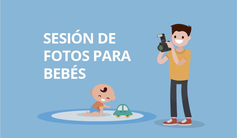 como hacer sesion de fotos para bebés