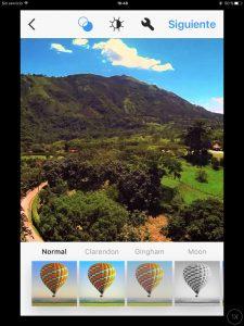 mayfair filtro instagram