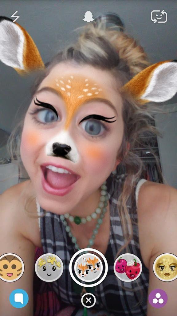 venado filtro snapchat