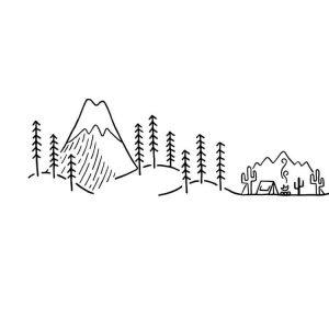 logotipos minimalistas de david powell