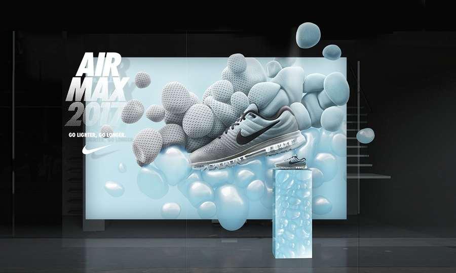 """orden Mutuo Confiar  Go lighter, Go longer"""", la innovadora campaña de Nike para Air Max 2017"""