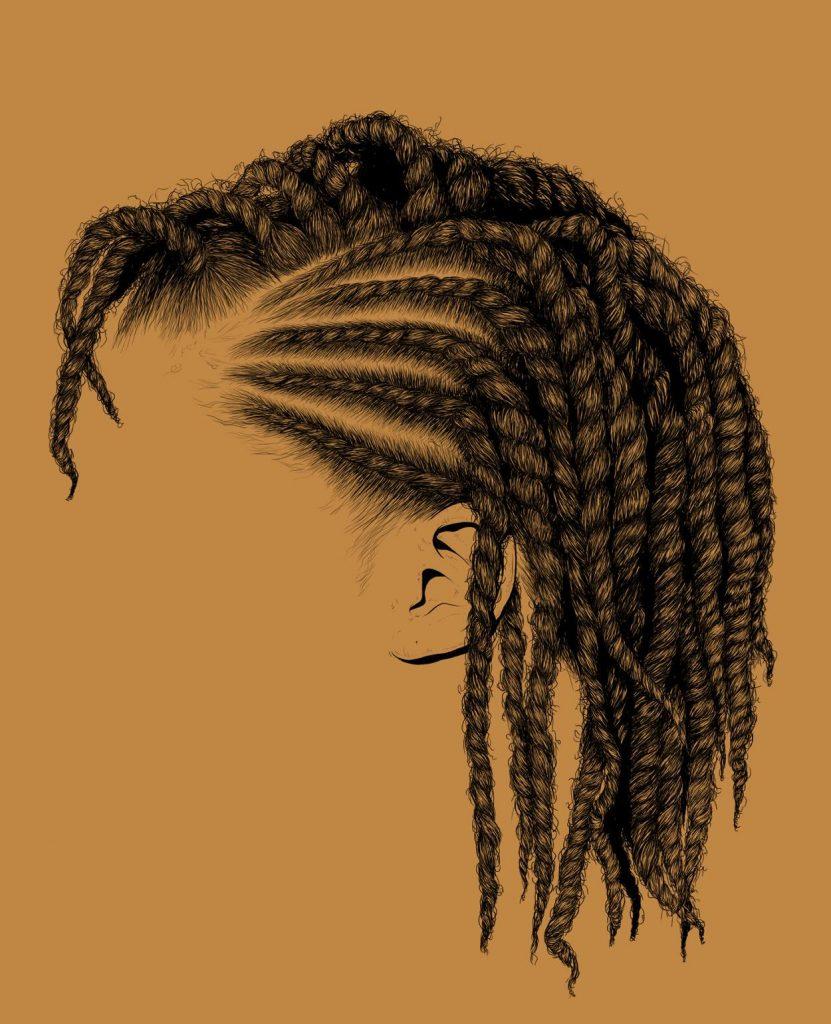 Estas Ilustraciones Del Cabello De Las Mujeres Negras