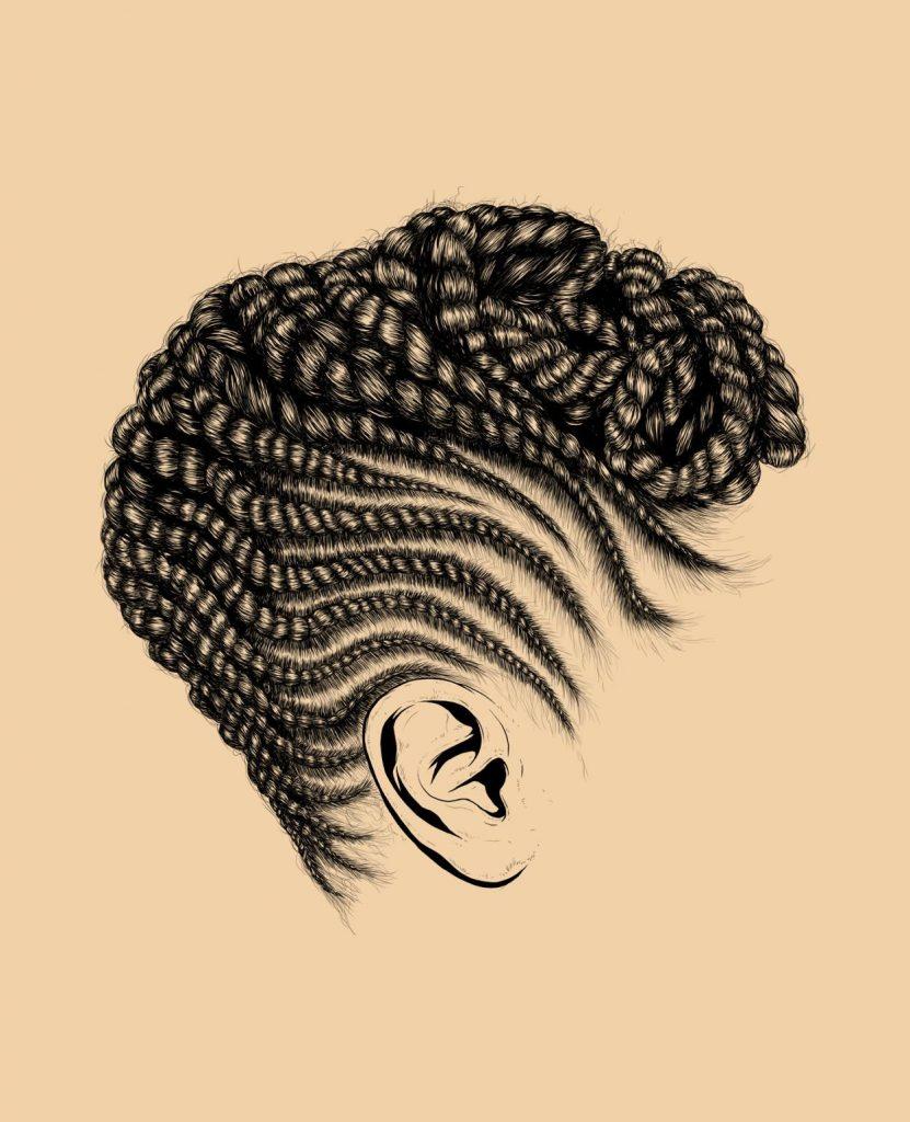Estas Ilustraciones Del Cabello De Las Mujeres Negras Promueven El