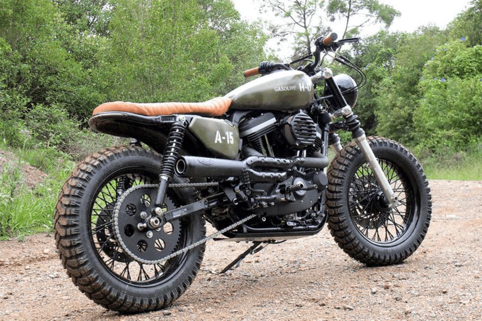 Un perro es la inspiración para la nueva motocicleta de Harley Davidson