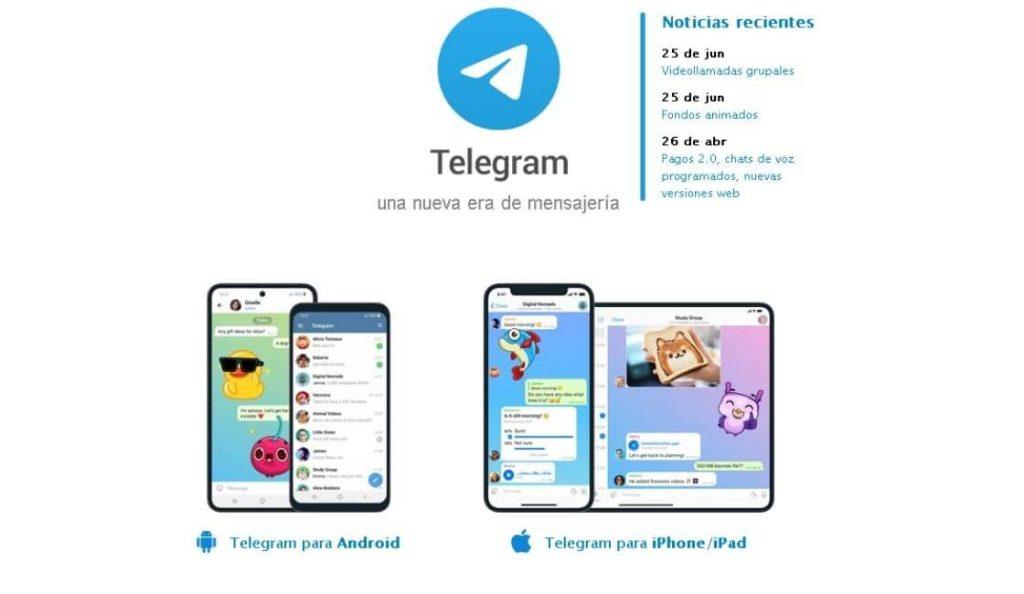 telegram aplicaciones usadas por adolescentes