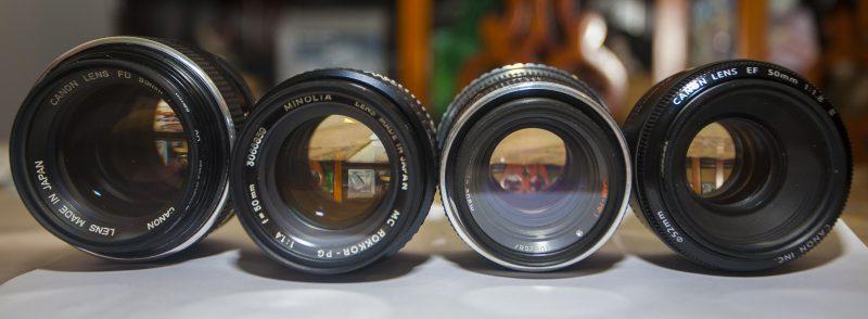 lentes cosas que necesita un fotógrafo