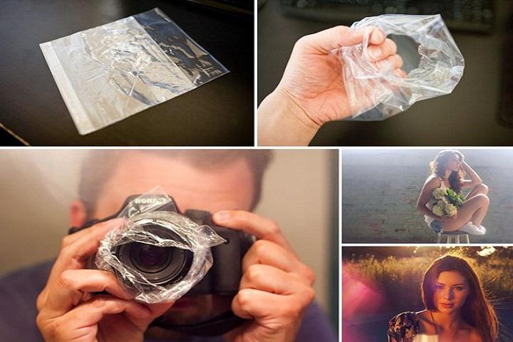 bolsas de plastico para fotografía