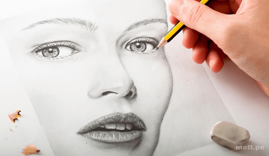 10 Tecnicas De Dibujo Artistico A Lapiz Faciles De Dibujar Para