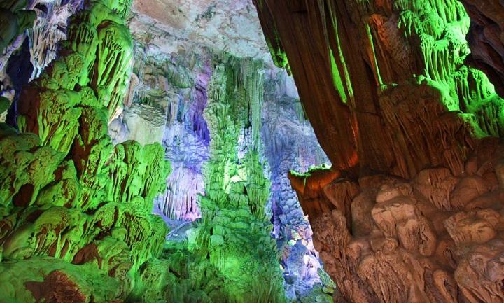 configuracion de camara para fotos en cuevas