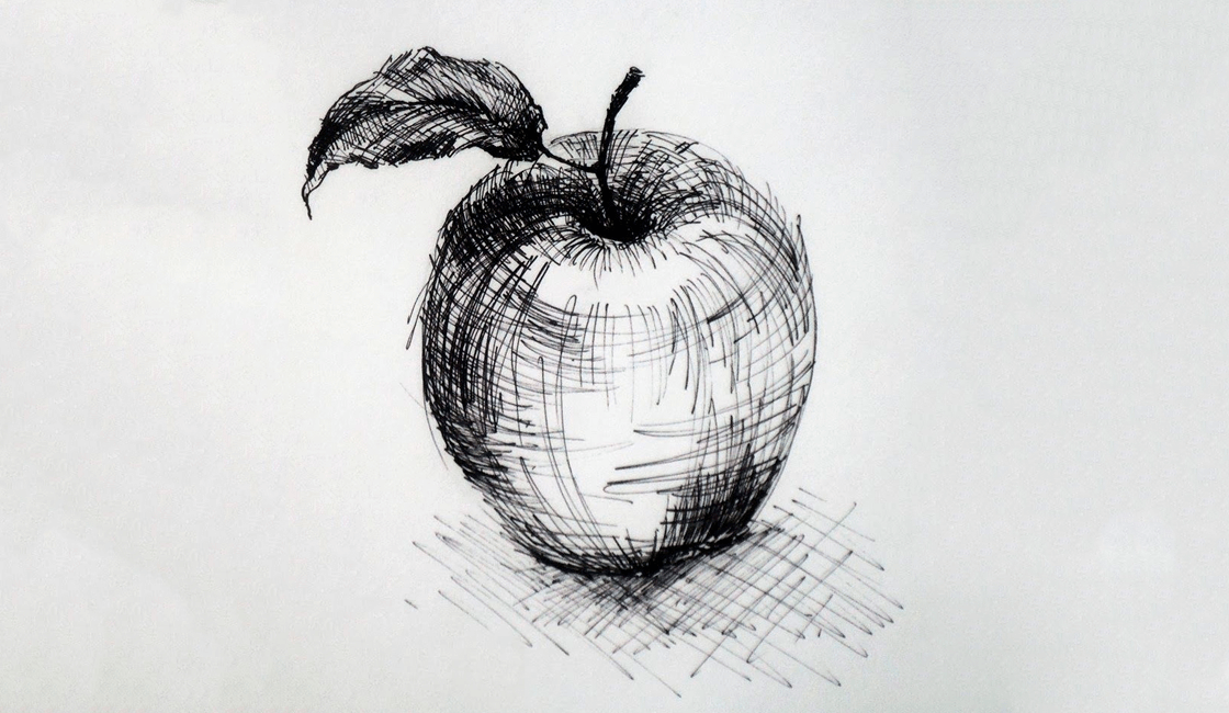 Cross Hatching, la técnica de dibujos artísticos a lápiz a base de líneas