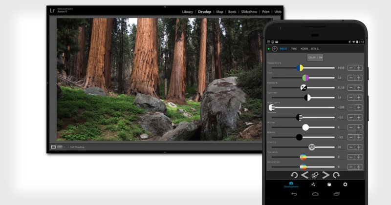 control room aplicación como editar fotos con celular