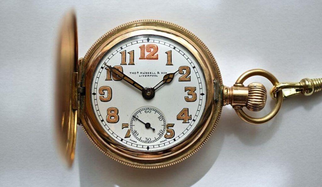 reloj mecanico artefactos tecnológicos antiguos