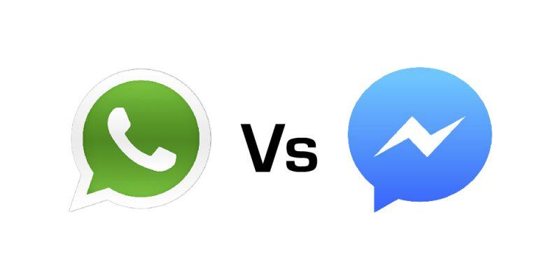 WhatsApp vs Facebook Messenger
