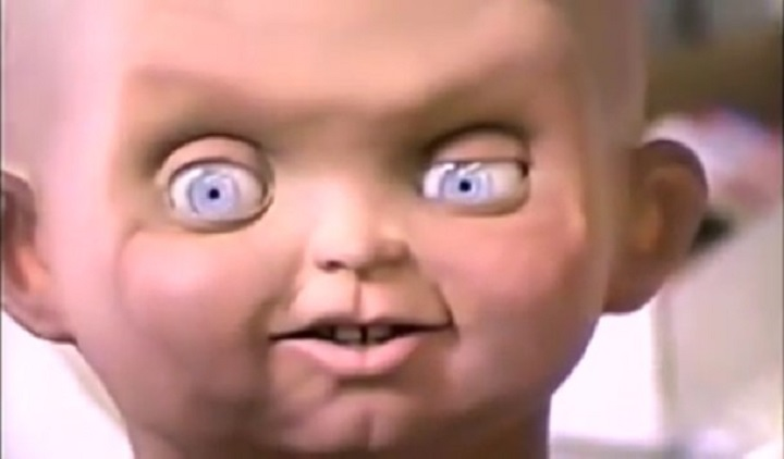 detrás de cámaras de películas de terror muñeco chucky