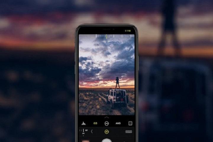 iPhone X tomando fotografía en formato RAW con la aplicación Halide