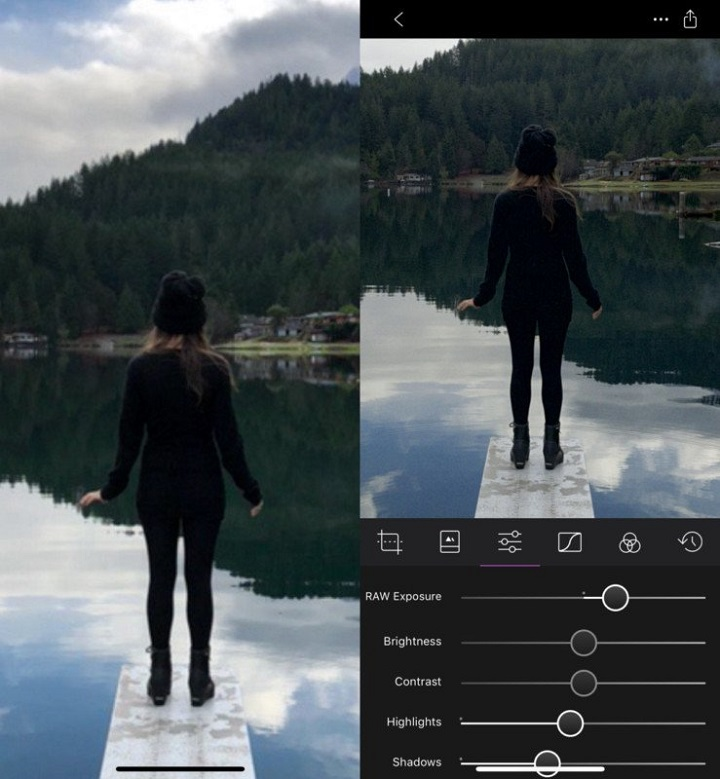 fotos editadas con iphone