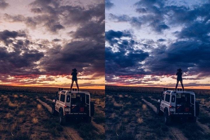 fotos formato RAW en iphone