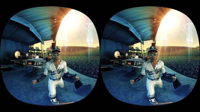 Samsung VR conciertos