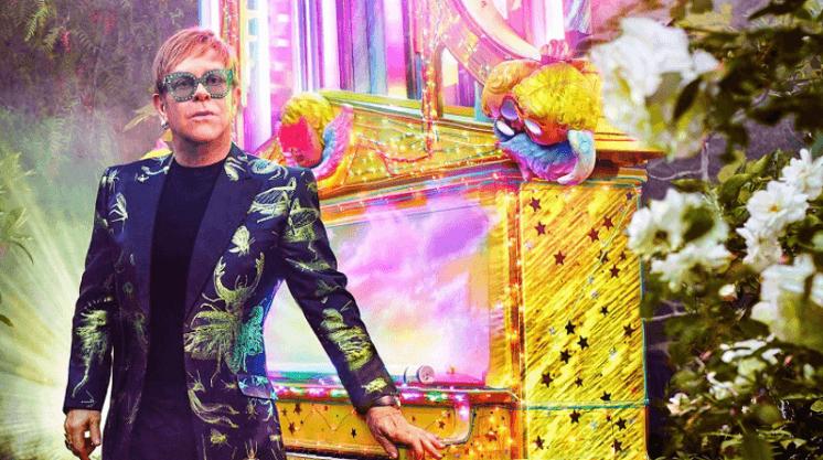 últimos conciertos de Elton John